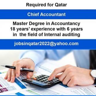 Chief Accountant for Qatar