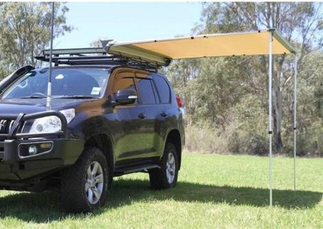 Full Length Cage Steel Roof Rack gutter mounts included free Awn