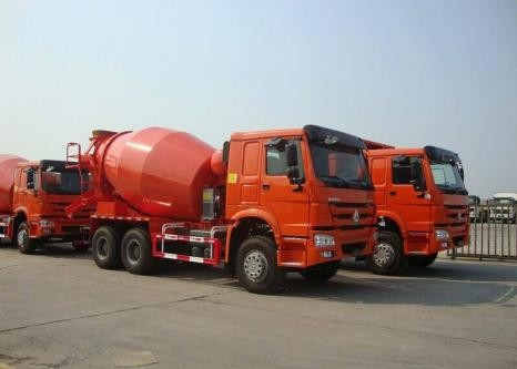 HOWO Concrete Mixer Trucks