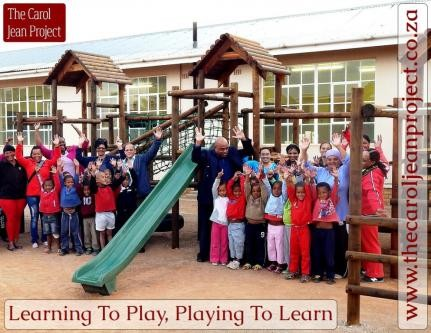 HELP US GIVE A CHILD A PLAYGROUND